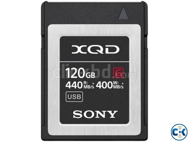 Sony 120GB G Series 440Mb s High Speed XQD Memory Card | ClickBD large image 1