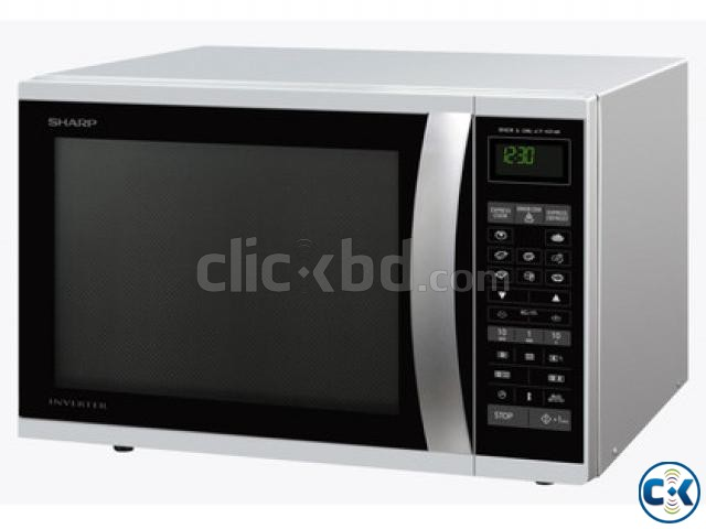 Sharp R-72A1-SM-V 25L Microwave Oven BEST PRICE IN BD | ClickBD large image 0