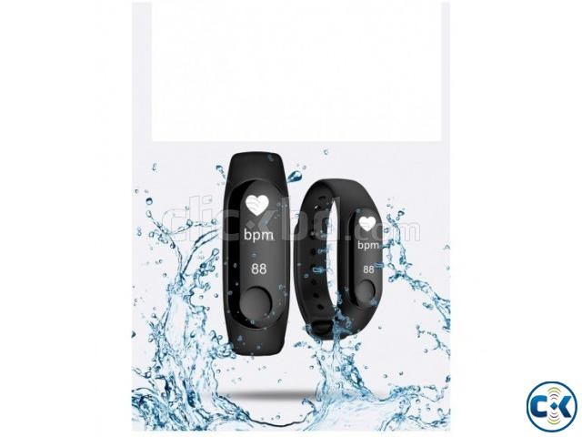 M3 Smart Band Water-Reset Blood Pressure Monitor | ClickBD large image 0