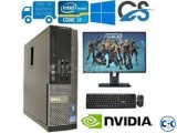 320GB 4GB 20 Led PC sale.