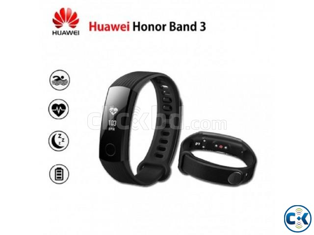 Original Huawei Honor Band 3 Water-Proof | ClickBD large image 0