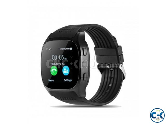 T8 Smart Mobile Watch Sim Supported Bluetooth Camera | ClickBD large image 0