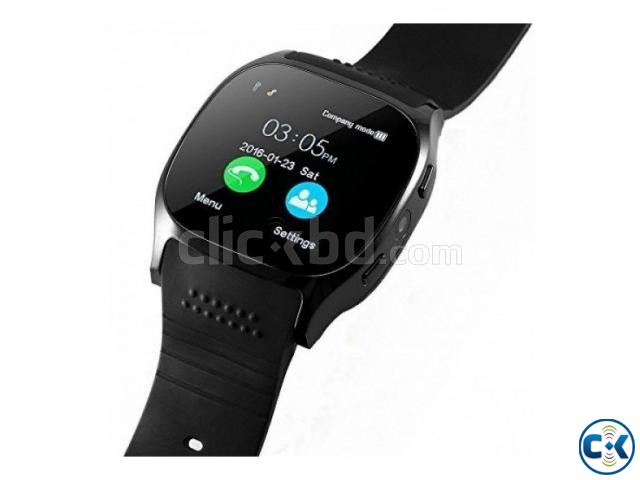 T8 Smart Mobile Watch Sim Supported Bluetooth Camera | ClickBD large image 1