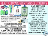 PLASTIC ID CARD PRINTING PRESS