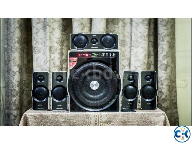 F D F6000X 5.1 135W RMS Bluetooth Home Theater | ClickBD large image 1