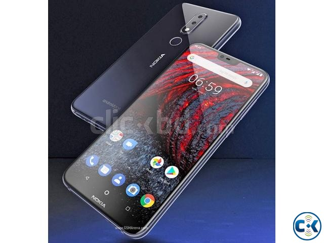 Brand New NOKIA 6.1 Plus 4 64GB Sealed Pack 3 Yr Warranty | ClickBD large image 1