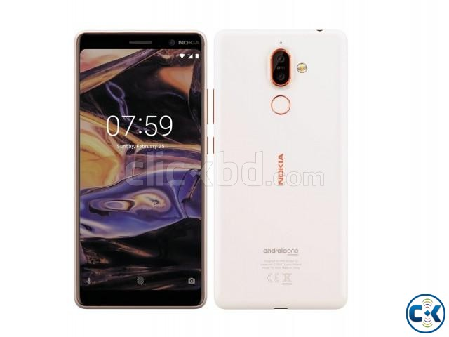 Brand New NOKIA 7 Plus 4 64GB Sealed Pack 3 Yr Warranty | ClickBD large image 0
