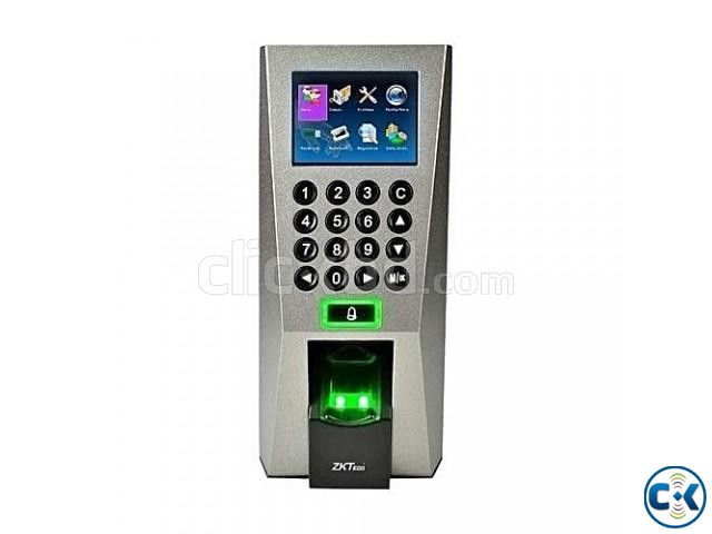 ZKTeco Fingerprint F18 Standalone Access Control and Timer | ClickBD large image 0