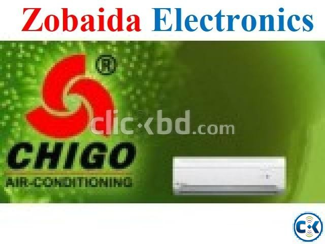 CHIGO 1.0 Ton Split Type AC Energy Savings Air Conditioner | ClickBD large image 0