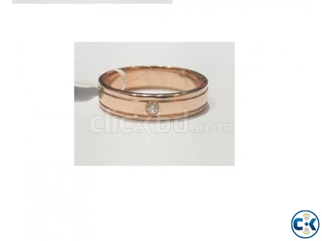 Diamond With Rose Gold Ring | ClickBD large image 0