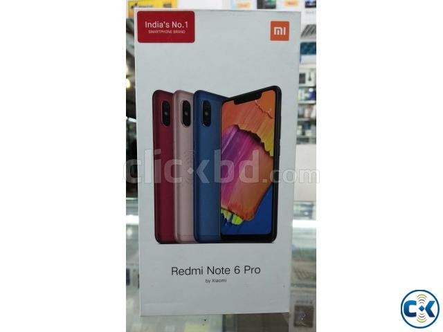 Redmi Note 6 Pro 4 64 GB Black | ClickBD large image 0
