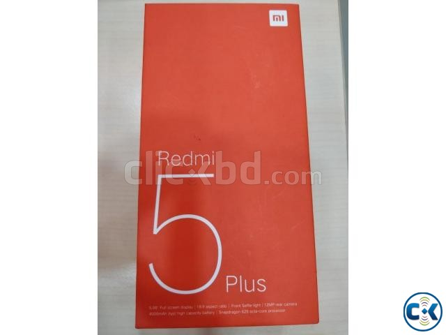 Xiaomi Redmi 5 Plus 3GB 32GB Black | ClickBD large image 1