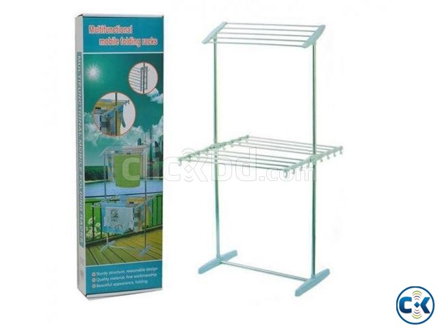 multifunctional mobil folding rack | ClickBD large image 0