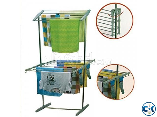 multifunctional mobil folding rack | ClickBD large image 1