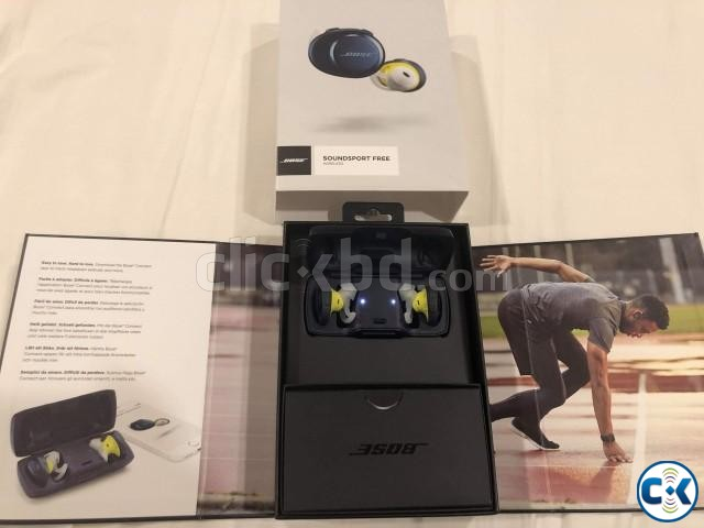 Bose SoundSport Free Truly Wireless Sport Headphones | ClickBD large image 3