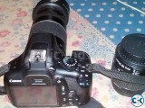 canon 1300d with 75-300mm lens