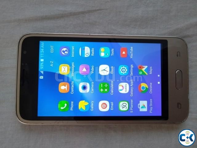 used Samsung Galaxy j1 Duos Mobile one set | ClickBD large image 0