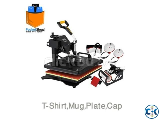Multi-Function Combo 5-in-1 Heat Press Machine | ClickBD large image 0