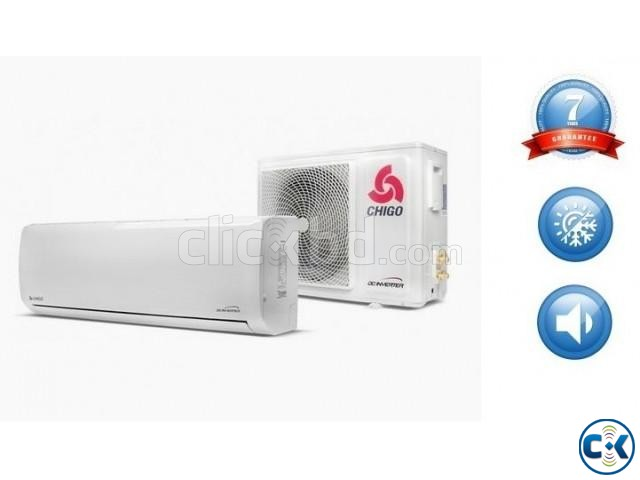 BRAND NEW 1.5 TON CHIGO SPLIT AIR CONDITIONER | ClickBD large image 4