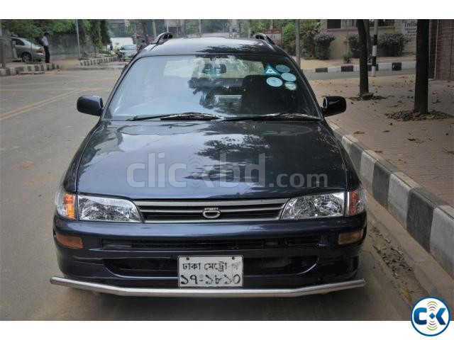 Toyota Station Wagon 2000 model Blue color for sale | ClickBD large image 0