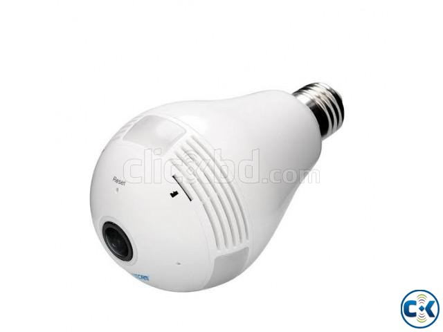 WiFi Bulb Camera Panoramic FishEye 360 | ClickBD large image 1