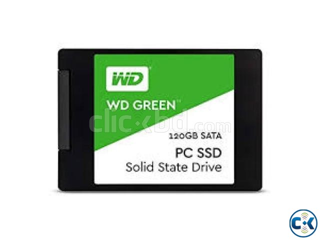 Western Digital 120GB Green SATA III 2.5 Inch Internal SSD | ClickBD large image 0
