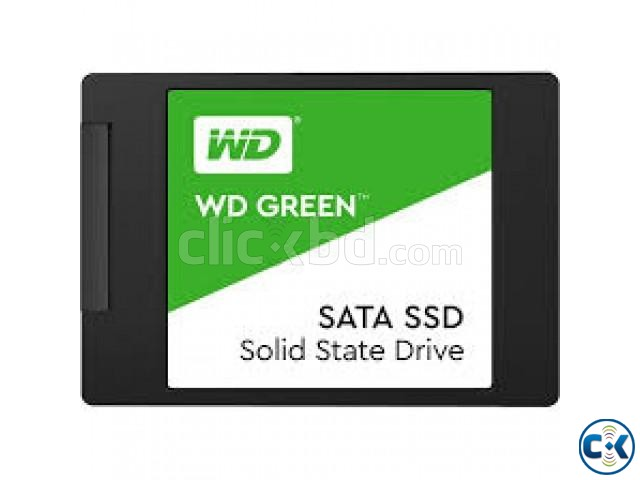 Western Digital 120GB Green SATA III 2.5 Inch Internal SSD | ClickBD large image 1
