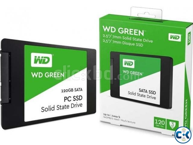 Western Digital 120GB Green SATA III 2.5 Inch Internal SSD | ClickBD large image 2
