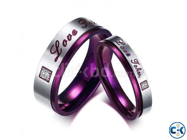 Love Promise Couple Finger Ring | ClickBD large image 0