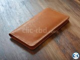 Leather Mobile Passport Wallet Traveler.