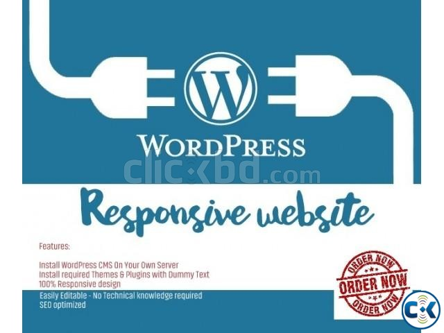 Create your Wordpress blog and start earning 01676739832  | ClickBD large image 0