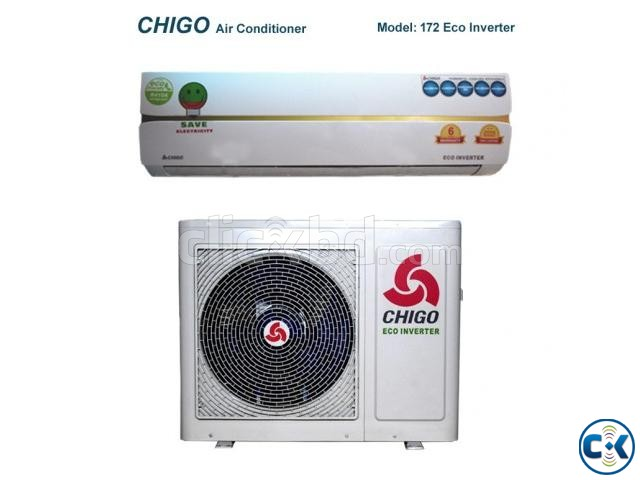 CHIGO 1 TON 12000BTU SPLIT AIR CONDITIONER | ClickBD large image 1