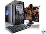 160GB 4GB 20 Led Monitor PC sale......