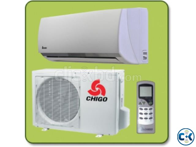 Chigo split type 1.5 Ton air conditioner Full package | ClickBD large image 0
