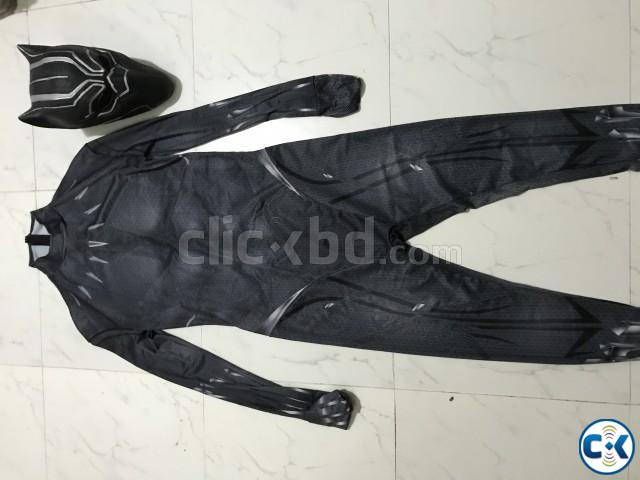 Black Panther Full Costume Cosplay for sale | ClickBD large image 1