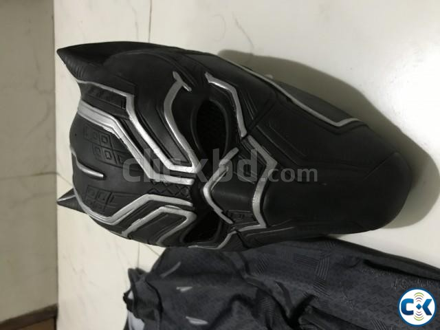 Black Panther Full Costume Cosplay for sale | ClickBD large image 4