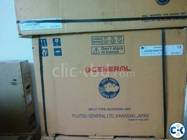 O General AC 1.5 Ton Split Type Fujistsu LTD | ClickBD large image 4