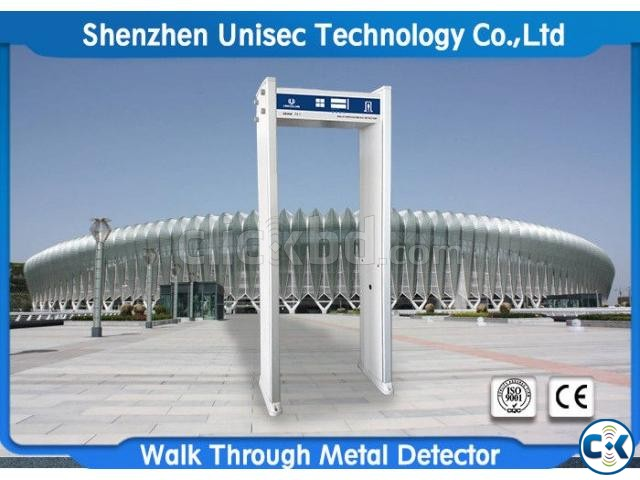 Multiple Zones Walk Through Metal Detector | ClickBD large image 0
