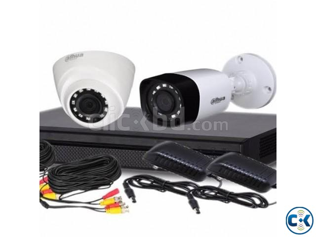 Dahua CCTV 2 Camera Package | ClickBD large image 0