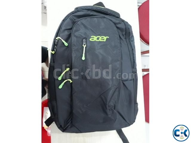 Acer Basic Laptop Backpack-Black | ClickBD large image 0