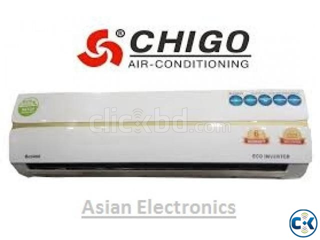 Chigo Eco Dual Inverter Air Conditioner 1.5 Ton | ClickBD large image 1