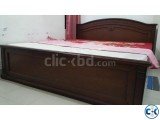 Wooden Bed-King Size Rebonded Foam Mattress-Otobi