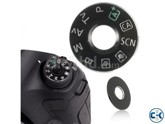 Replacement Dial Mode For Canon 5D Mark III Canon 6D Cam. | ClickBD large image 3