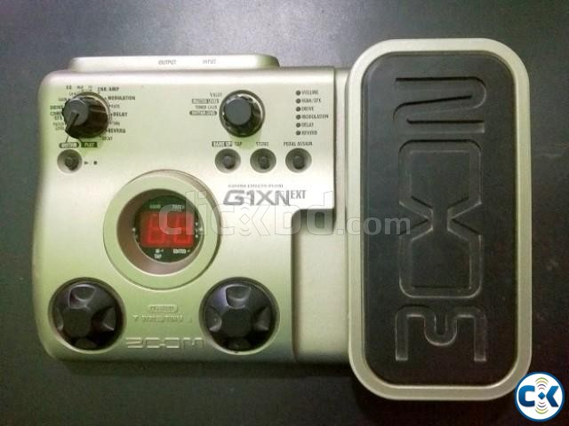 Zoom g1xnext with original Adapter | ClickBD large image 0