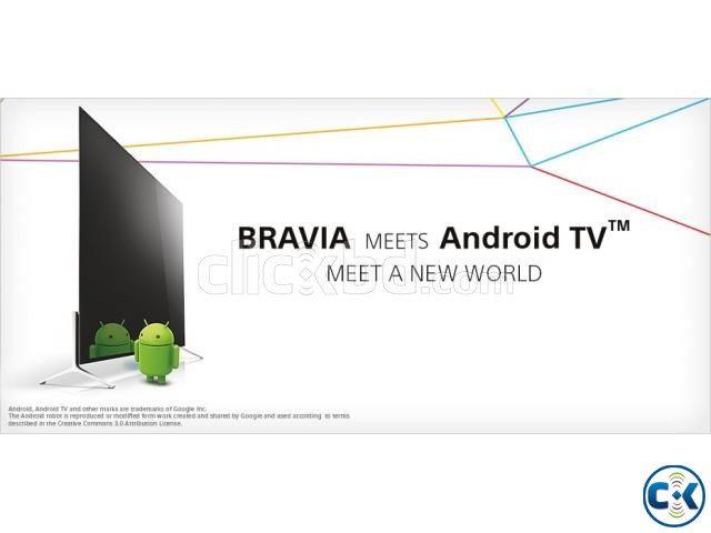 Brand New Sony BRAVIA 43 inch W800C Android Smart 3D TV | ClickBD large image 0