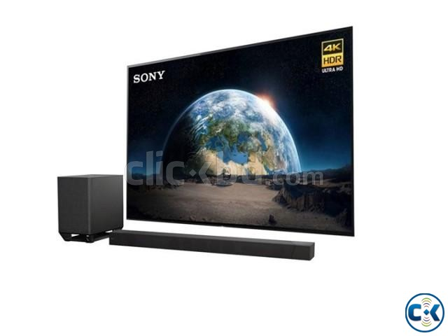 Sony 55 X8577F 4K Android HDR Slim With Voice Control Remot | ClickBD large image 0
