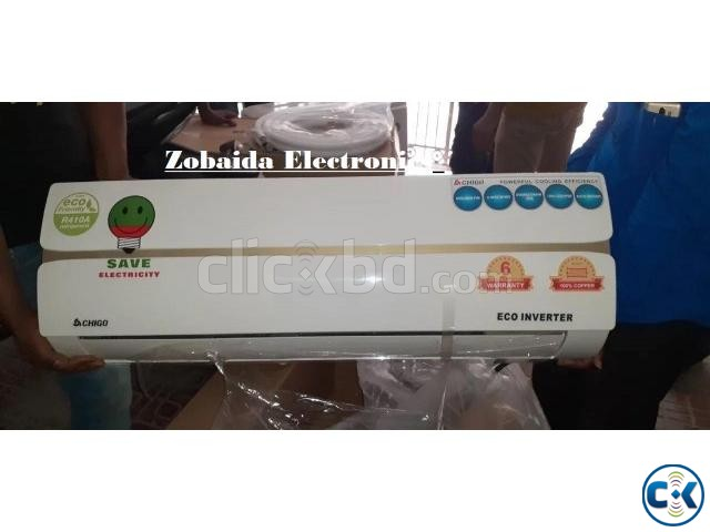 Hot Offer Inverter AC CHIGO 2.0 TON BTU 100  | ClickBD large image 0