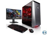 HDD 160GB RAM 2GB 17 LED MONITOR.PC
