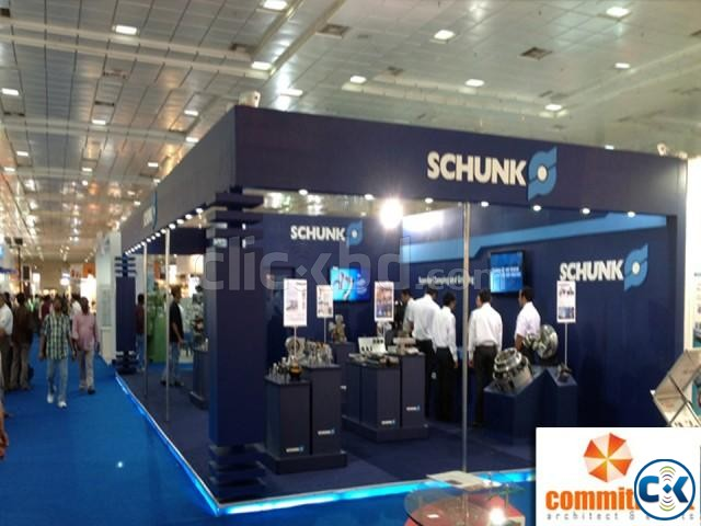 Trade show exhibit booth powered by commitment | ClickBD large image 2