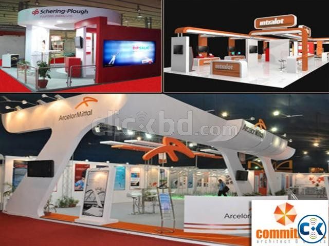 Trade show exhibit booth powered by commitment | ClickBD large image 3